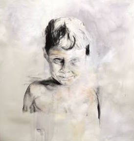 """Young Boy,"" by Jaynie Latham is at the Thunder Bay Art Gallery."