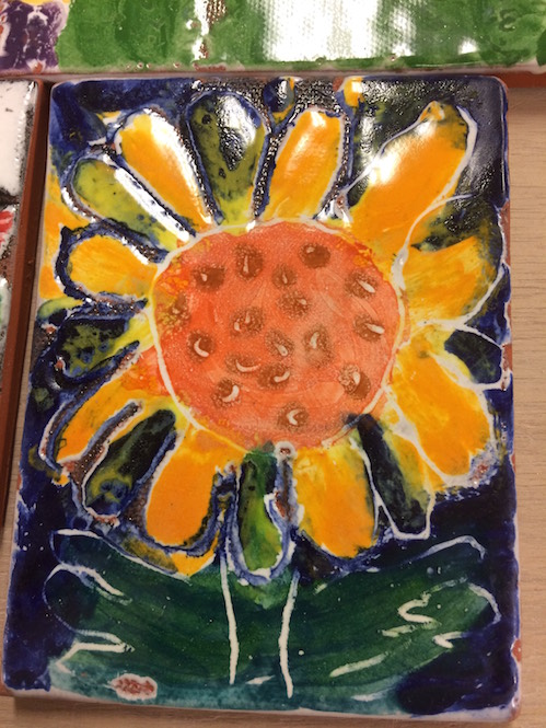 The Art Colony will hold a Majolica tile-painting class on Friday rom 1-2:30 p.m.
