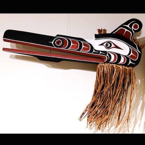 Kwakiutl mask by Cecil Dawson.