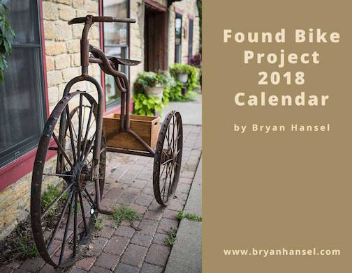 Bryan Hansel has a cool calendar for 2018!