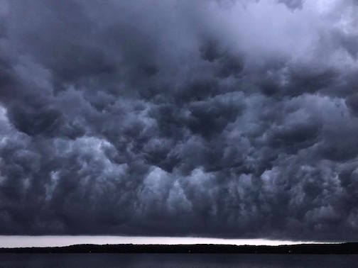 Storm Over Devil Track by Brianna Schueller.