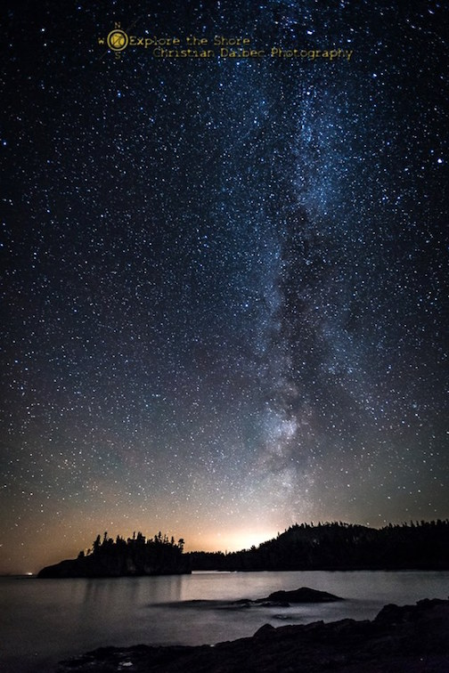Milky Way by Christian Dalbec.
