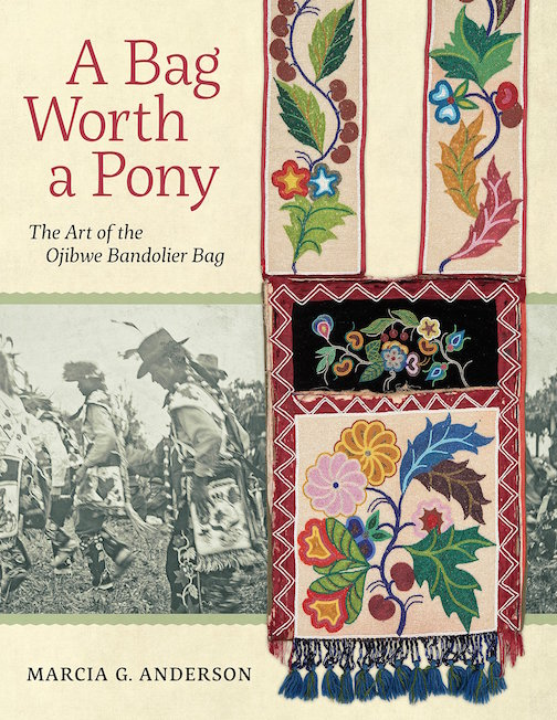 cross river a bag worth a pony the art of the Ojibwe Bandolier Bag