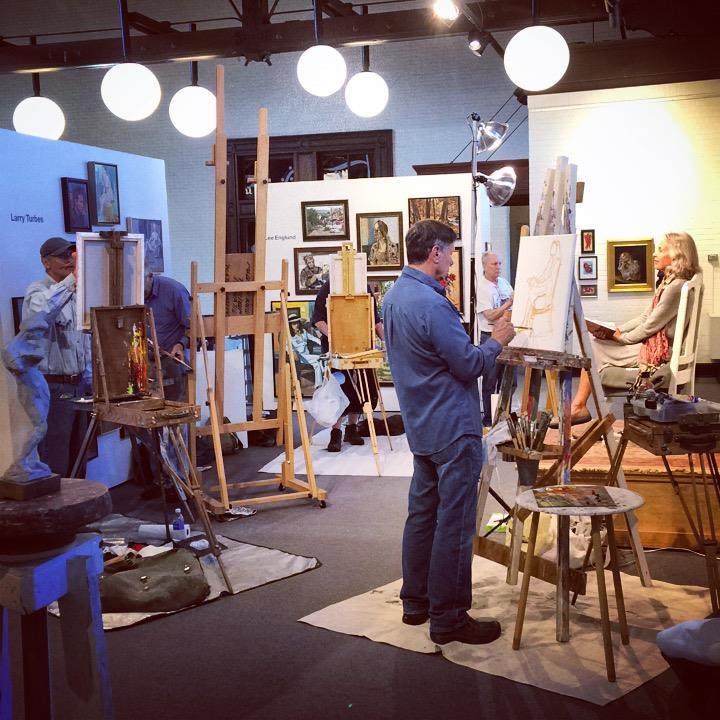 The Duluth Art Institute is hosting live painting sessions in its galleries on Wednesdays from 4:30 to 6:30 p.m. Open to the public. Free.