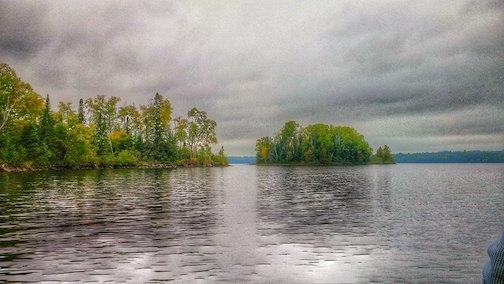 Canoe cruise by Don Davison.
