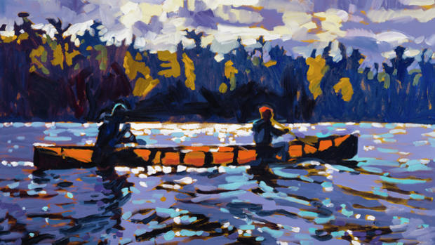 Plein air painter David Gilsvik will open his studio for the Lake Superior 20/20 Art Tour.
