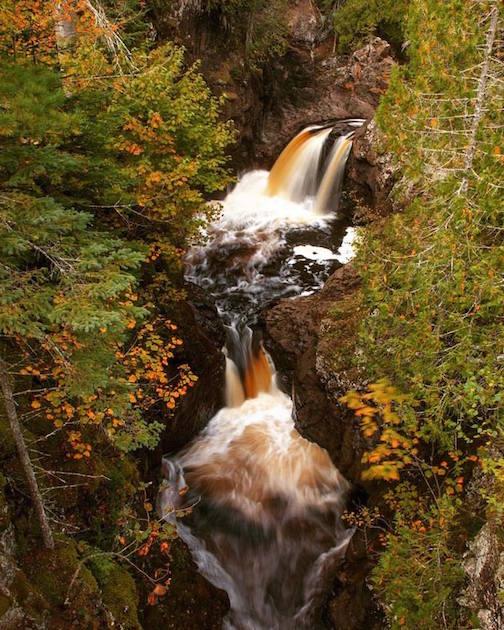 Cascade Falls by Jon Wood.