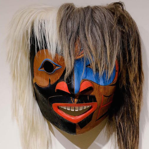 Shaman Speaker mask by Tom LaFortune.