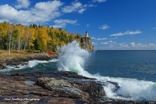 Split Rock Lighthouse by Paul Sundberg.