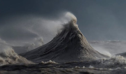 """Water Mountain"" by Dave Sandford."