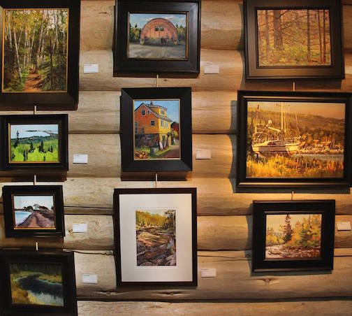 The Plein Air 2017 exhibit at the Johnson Heritage Post continues through Oct. 29.