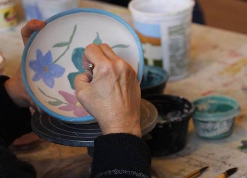 paint a bowl