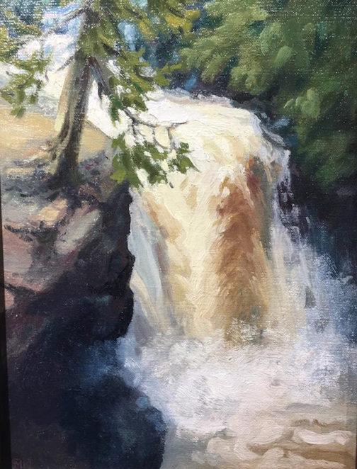 "Matt Kania's ""Cascade River Gorge"" is at Ron's World Rocks."