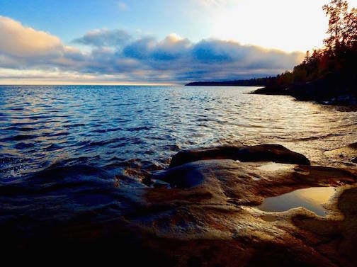 Lake Superior by Scott Benson.