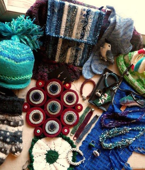 The Northwoods Fiber Guild Holiday Open House and Sale is at the Grand Marais Art Colony from 9 a.m. to 2 p.m. Saturday.