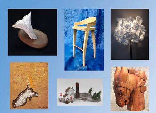 Woods N Arts is at the Baggage Building Arts Center through Nov. 26.