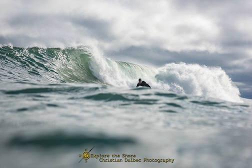 A beautiful surf at Stoney Point by Christian Dalbec.