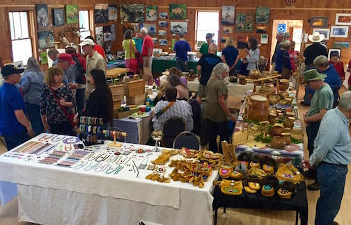 The Hovland Arts Festival Pre-Christmas Sale is from 10 a.m. to 4 p.m. at the Hovland Town Hall on Saturday.