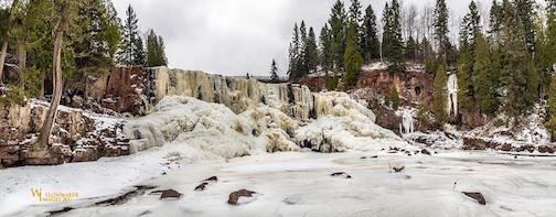 Gooseberry Falls today by Jamie Rabold.