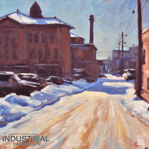 """Day Shift"" by Lorenzo Chavez ""Day Shift"" Oil, is at the Tweed Museum of Art, part of the"