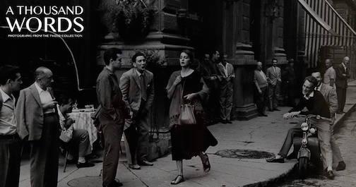 "(detail), Ruth Orkin, ""American Girl in Itatly, 1951."""