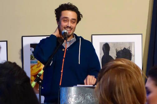 voyageur books and brew a special poem presentation by Moheb Soliman