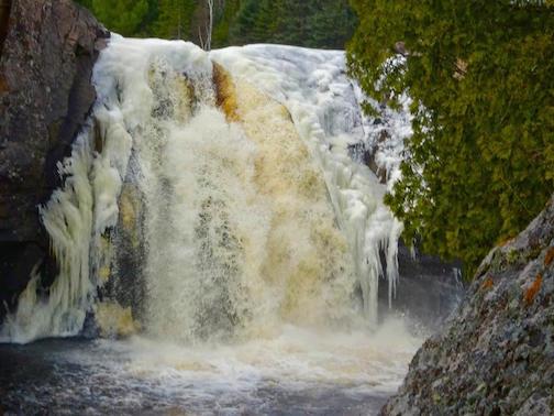 Illgen Falls by MaryJane Van Den Heuvel.