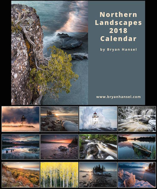 bryan hansel northern landscapes calendar