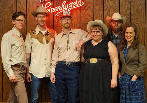 The Midwesternaires play the Grand Marais Ole Oprey