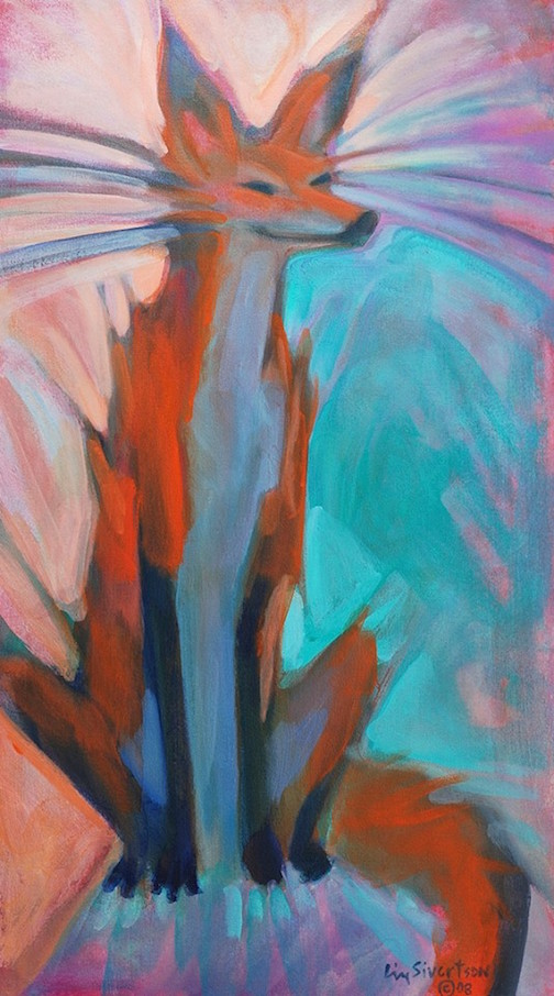 """""""Local Sage"""" by Liz Sivertson is at Sivertson Gallery."""