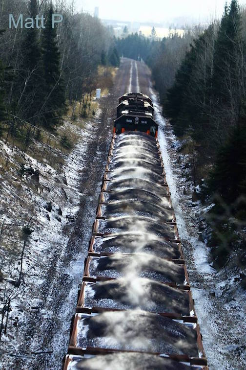 """""""Yes, my coal is being delivered. Santa says I've been a bad, bad boy,"""" by Matthew Pastick."""
