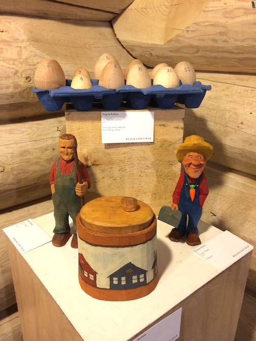 Begin Continue at the Johnson Heritage Post has a great selection of works crafted by North House Folk School instructors.