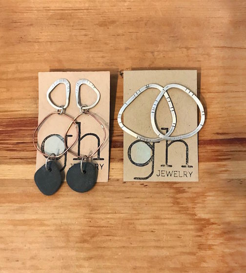 Grace Hogan jewelry is featured at the Grand Marais Art Colony.