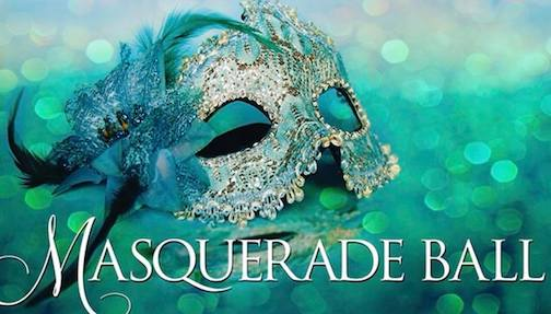 The New Year's Party at The Wunderbar is a masquerade party ... prizes for best costume.