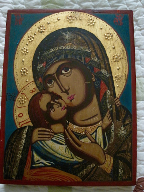 This Bulgarian icon has been donated for the