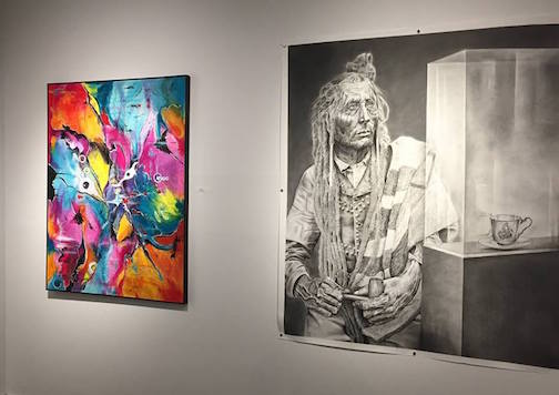 The juried exhibition at the Definitely Superior Gallery is extended through Jan. 20.
