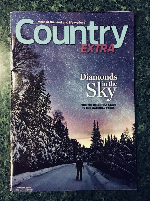 Travis Novitsky has a cover photo on Country Extra magazine.