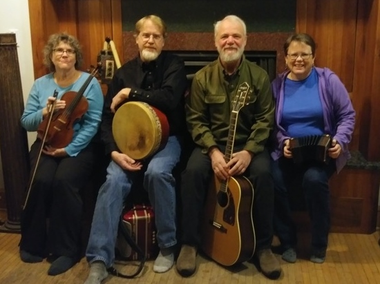 BARRA will be concert at North House Folk School and play for a Ceilia dance March 31.