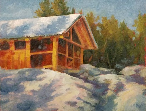 """Summer Cabin"" by Matt Kania."