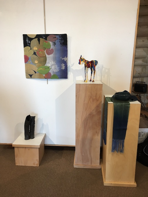 The Collectors Art Sale opens at the Johnson Heritage Post on Friday night and continues through Sunday. The North Shore Winery will also host artworks for the sale. Its exhibit opens on Thursday and continues through February.