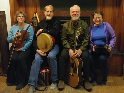 BARRA will play Celtic music for a concert and ceilli dance at North House Folk School on Saturday, starting at 7 p.m.