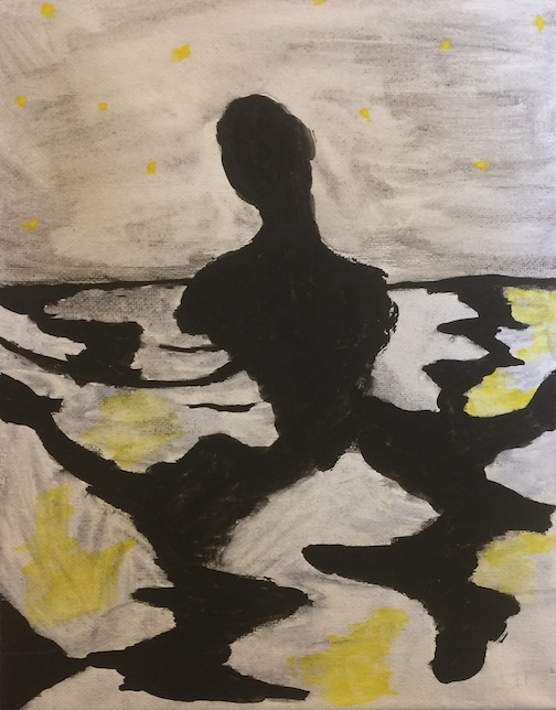 """Shadows of the Night"" by Sandra Burket, Cook County High School student."