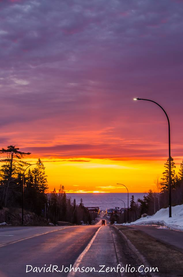 Welcome to Grand Marais by David Johnson.