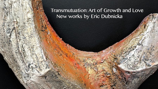 Multi media artist Eric Dubnicka opens an exhibit at the Zeitgeist Arts Cafe on Tuesday.