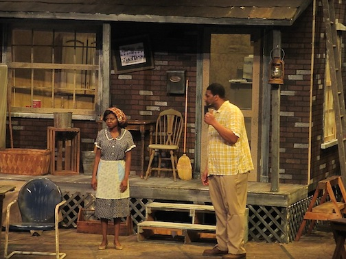 "This is the first time that ""Fences"" has been performed north of the Twin Cities. It has an all African-American cast."