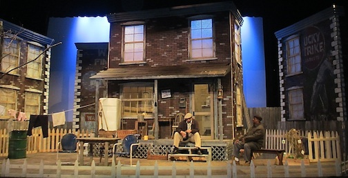 "The set from ""Fences,"" which will be performed in Silver Bay this weekend. Check tix.com for tickets."
