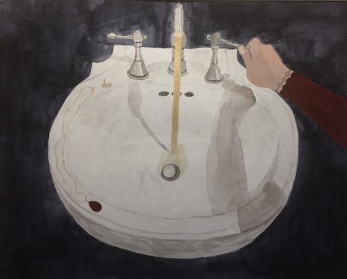 """Waster Water"" by Louise Ramberg, CCHS student."