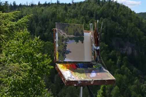 Paint in the Boundary Waters! Plein Air trip planned in September.