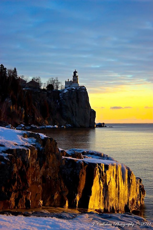 Split Rock Dawn by J Callahan.