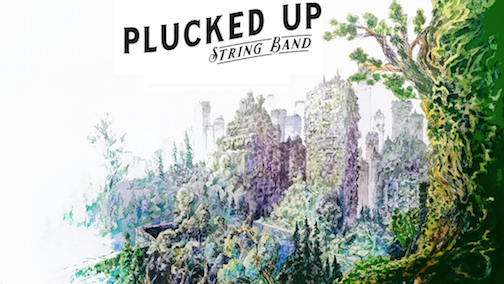 Jeff Kniesen created the artwork for the cover of Plucked Up String Band's debut album.